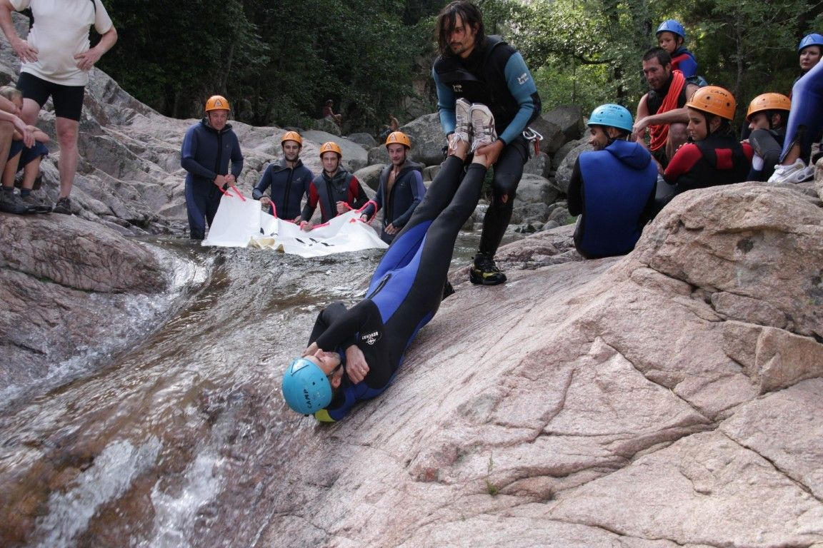 Canyoning Didier Micheli
