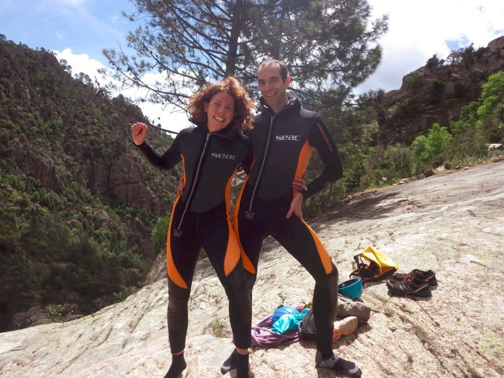 Canyoning à Bavella en Corse